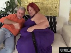 Huge BBW Sweet Cheeks Has a Thick Cock Stuffed in Will not hear of Cakehole and Cunt