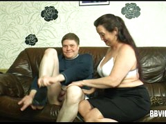Heavy german milf gets nailed nearly bathroom