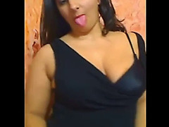 Corpulent saudi arabian beauty shows leather pie
