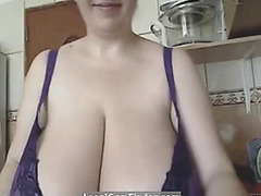 The romanian obese beautiful womanmistress fearsomethreatening alicia in the matter of kitchen