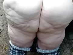 Ssbbw pawg fucking outside influence a rear
