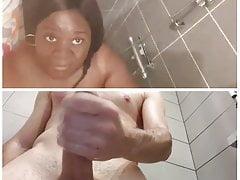 Webcam show douche Florence et moi