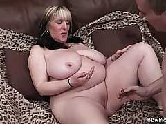 Chubby go on with and doggy-fuck