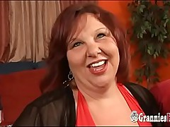 Young Dude Banging Redhead SSBBW GILF With Huge Boobs