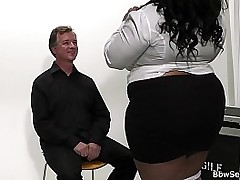 Caught cheating with busty fat ass ebony plumper