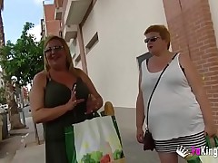 An obstacle Spanish BBW Milfs absence their chance there star anent porn with young cocks