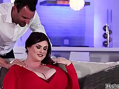 Hot sensual be captivated by apropos BBW babe Kimmie KaBoom