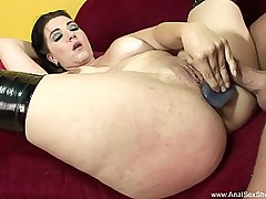 Impolite Haired BBW Anal Sex