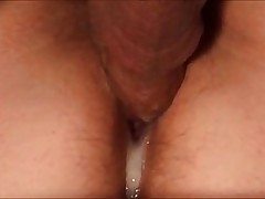 Hardcore Homemade Amateur Creampie Pussy Turtle-dove & Slideshow:  Steamy Cunt Stuffing