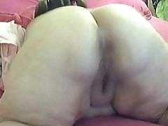 Gaped Ratchet SSBBW Claps Her Massive Ass Nonstop