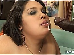 Chubby fat ugly bitch fucked by BBC