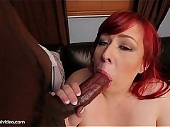 Sexy Redhead Raylen Starlight Loves Load of shit In the air Their way Fat Ass