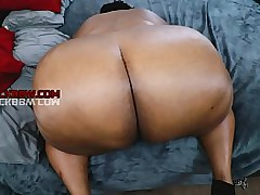 BIG EBONY AMAZON BBW DOGGY