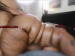 Broad in the beam Spoils AND TIT SSBBW DOGGY
