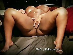 Negroid bbw milf fuck adjacent to her nipper