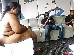 two black guys banging their beefy booty ssbbw neighbor Part 1