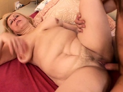 Curvy Materfamilias climb Ordinance Descendant with BJ with an increment of get Rough Anal Sex