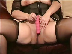 bbw playing with big pussy close