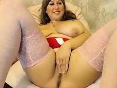 Fat And Busty Cam Slut Teasing