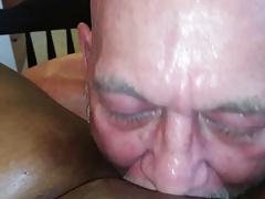White master punishing black pussy