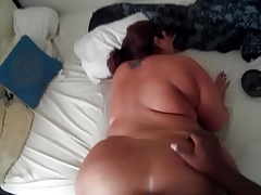 65 inches of Pawg ass... With the addition of smoking...