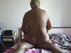 Shorthaired chubby milf fucking