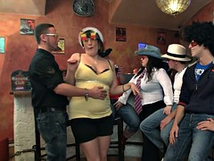 Hot bbw party hither boozed girls