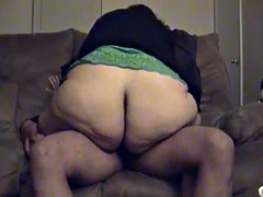 Bbw previously to wife riding 1