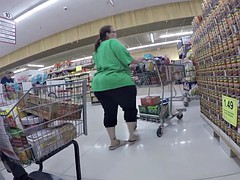 BBW Increased by Obese Plunder Only (Candid)