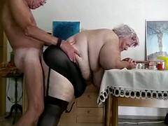 Fette Alte in denn Arsch Ficken