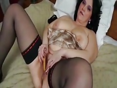 BBW Masturbates With A Bottle Latchkey