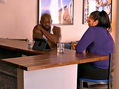 reality tv interracial threesome round a milf