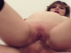 Pregnant babe enjoys slatternly and riding cock