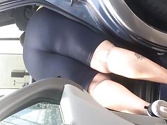 Motor freshly laundered booty