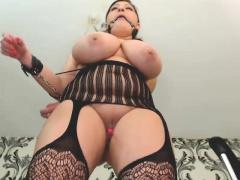 Gaffer BBW banged in lingerie