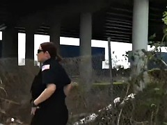 horny trio of busty cops are uncompromisingly happy to shot fun with a large rod